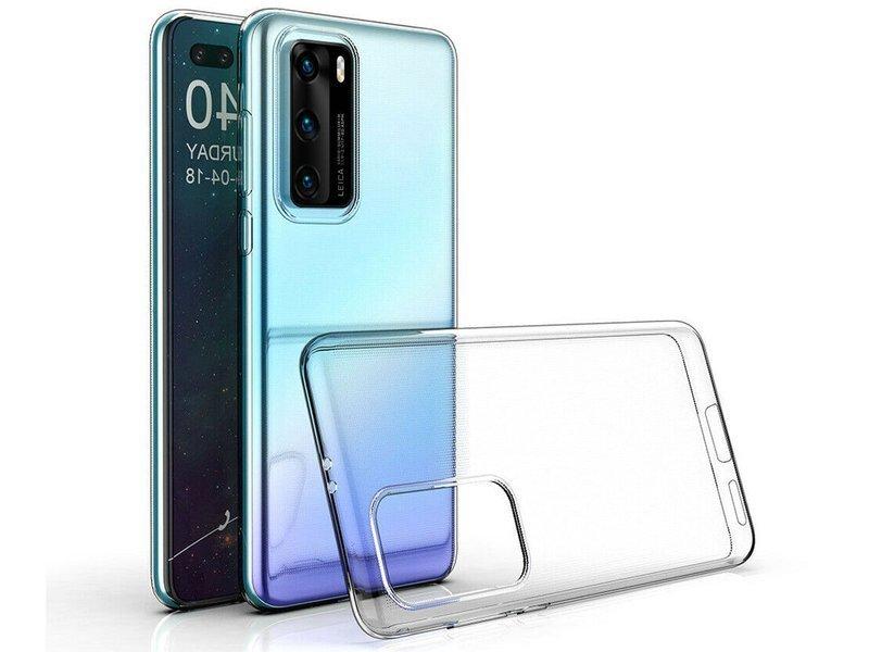Etui silikonowe przezroczyste do Huawei P40 Crystal Case