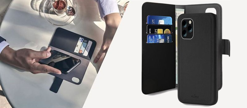Etui PURO Wallet Detachable do Apple iPhone 11 Pro