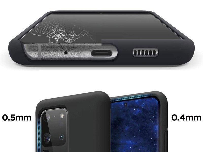 Etui silikonowe Alogy slim case do Samsung Galaxy S20 Ultra czarne