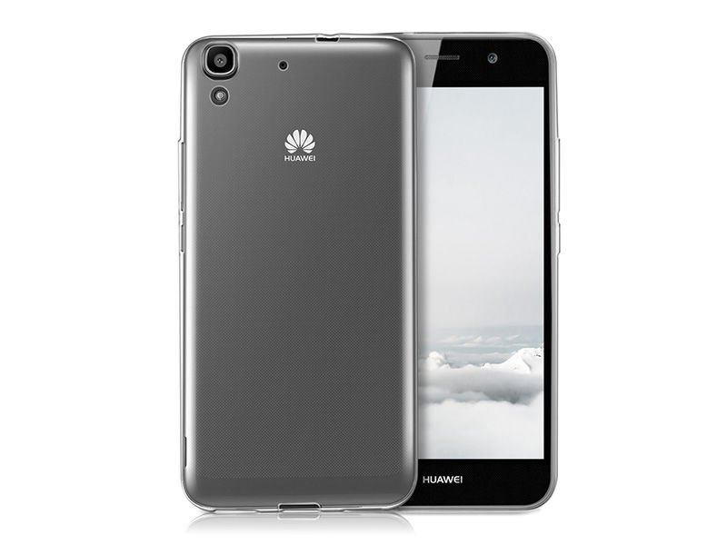 Etui Silikonowe Do Huawei Y6 Ii 2   Szk U0142o Hartowane
