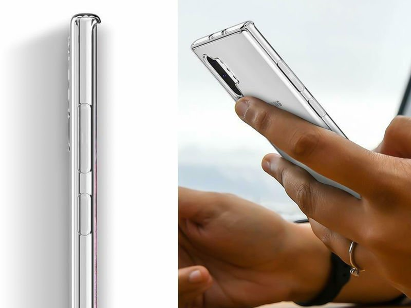Etui silikonowe przezroczyste do Samsung Galaxy Note 10 Plus