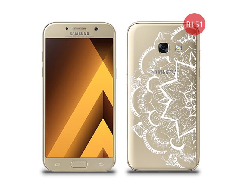 Etui silikonowe z nadrukiem Samsung Galaxy A3 2017 - Serwetka Biała -  4kom.pl 26b76cffb885