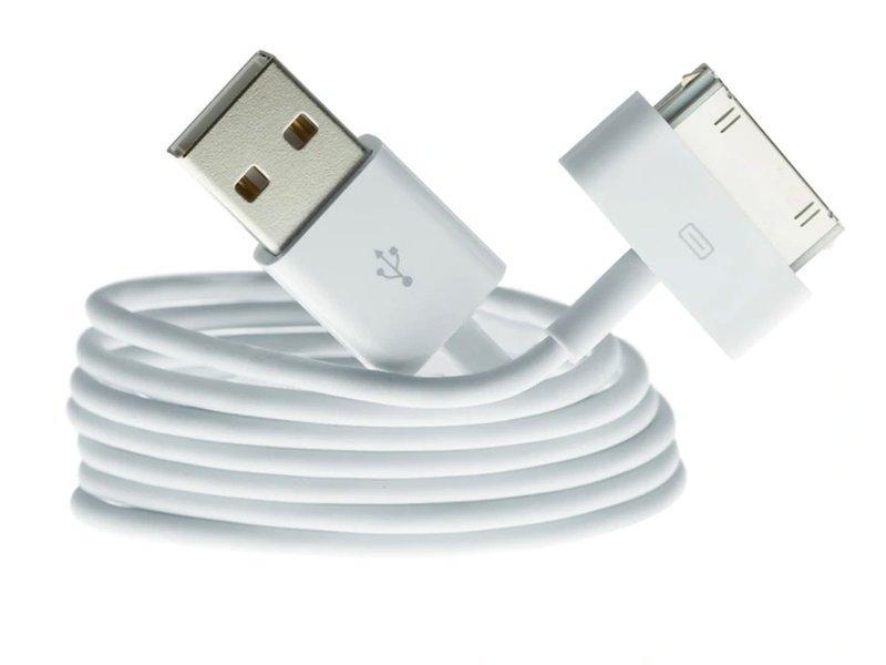 Kabel 30 pin USB do iPhone 4 4S 3GS 3G 3 iPod iPad 2 3 zamiennik