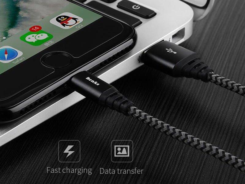 kabel benks snake usb lightning 180cm iphone. Black Bedroom Furniture Sets. Home Design Ideas