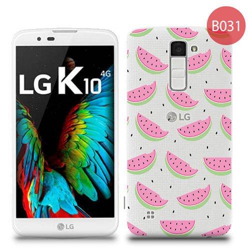 Przezroczyste etui z nadrukiem LG K10 - Arbuzy - 4kom.pl 6ad1830a8c28