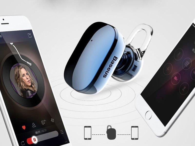 Słuchawka dotykowa bluetooth Baseus Encok mini A02