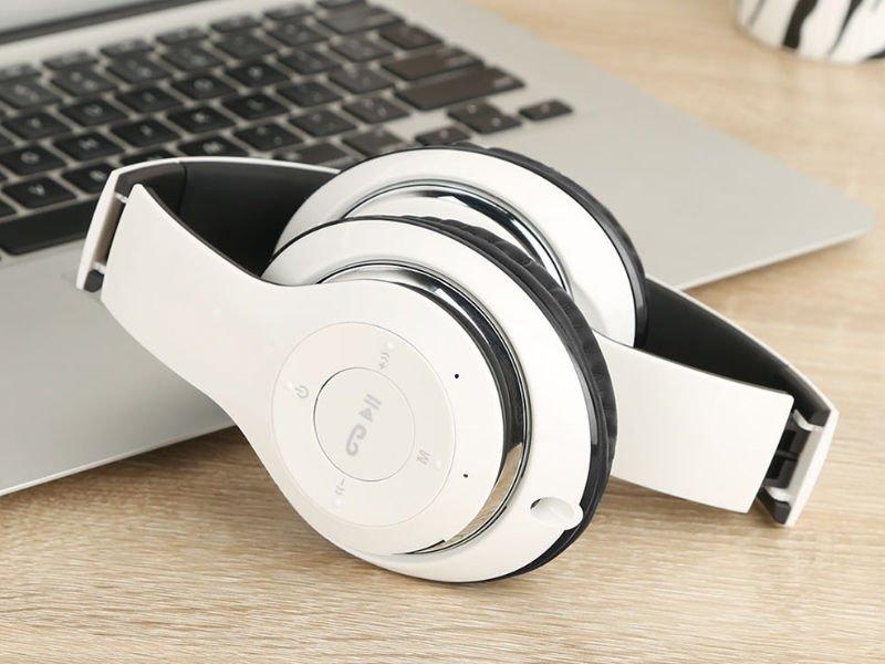 Słuchawki Bezprzewodowe BT 09 Czarno Złote