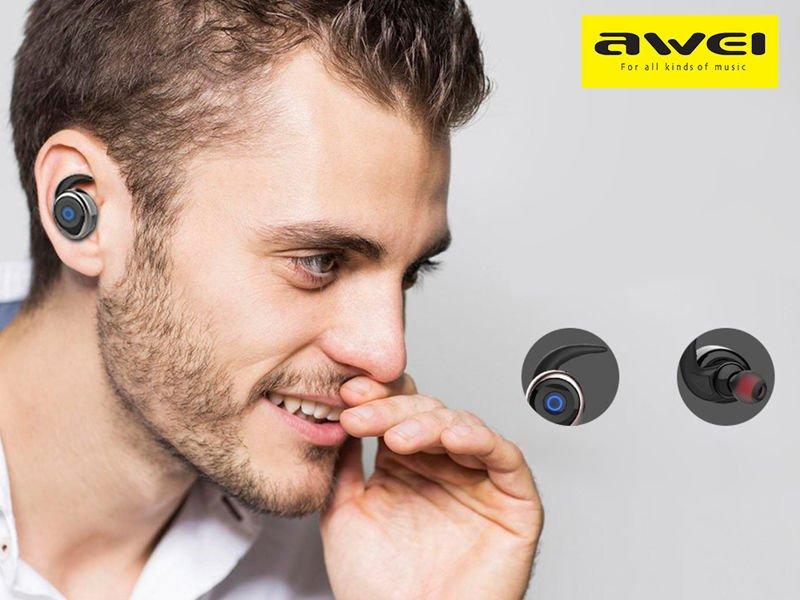 Słuchawki Bluetooth Awei T1 douszne wodoodporne ipx4