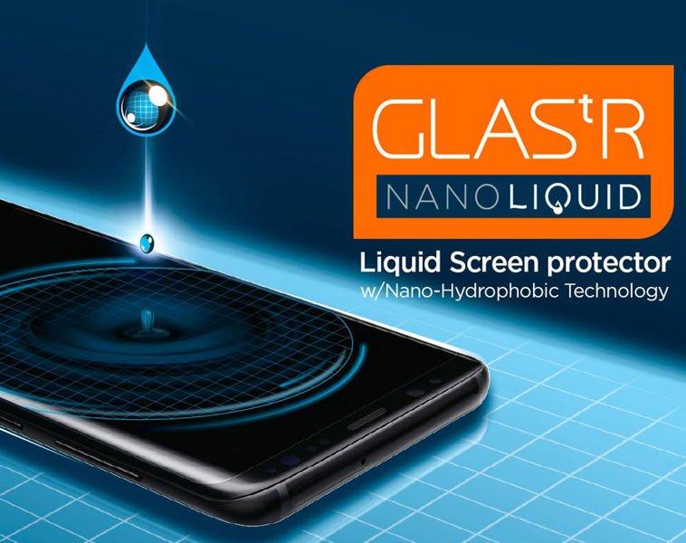 Spigen Glas.tR Nano Liquid uniwersalne szkło 9H w płynie