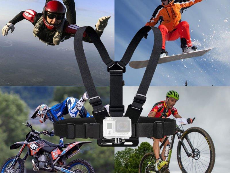 Szelki regulowane mocowanie do GoPro Chest Mount