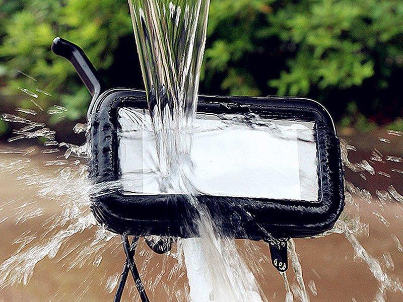 Uchwyt wodoodporny na motocykl