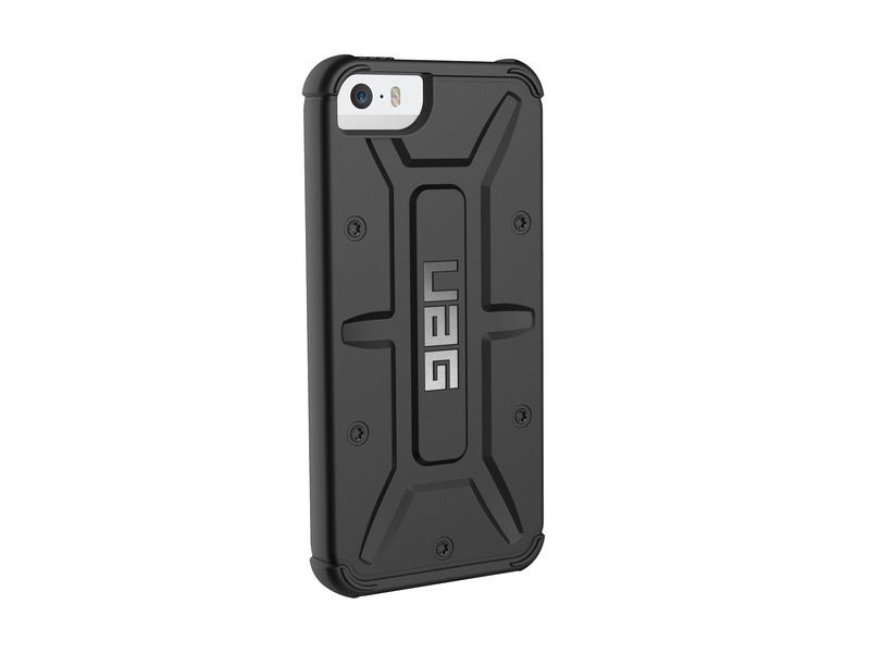 etui urban armor gear iphone 5 5s se black. Black Bedroom Furniture Sets. Home Design Ideas