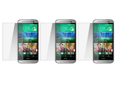 3x Folia ochronna na ekran do HTC One M8