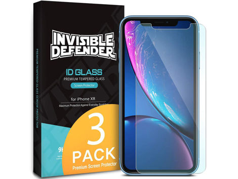 3x Szkło Ringke Invisible Defender Apple iPhone Xr