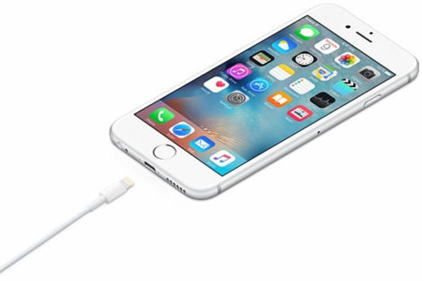Biały Kabel Lightning 2m iPhone 5C 5S SE 6 6S 7 4.7 Plus 5.5 Bulk Version - zamiennik