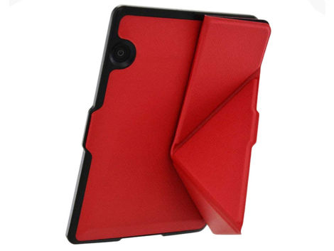ETUI FUTERAŁ ORIGAMI DO AMAZON KINDLE VOYAGE NA MAGNES Czerwony