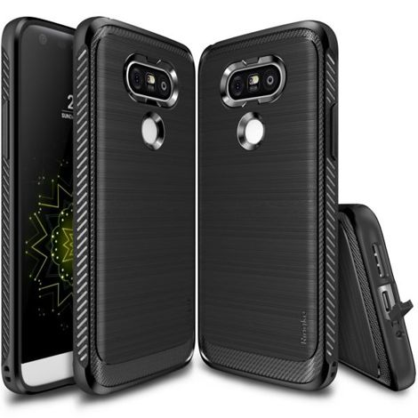 ETUI REARTH RINGKE ONYX DO LG G5 BLACK + SZKŁO