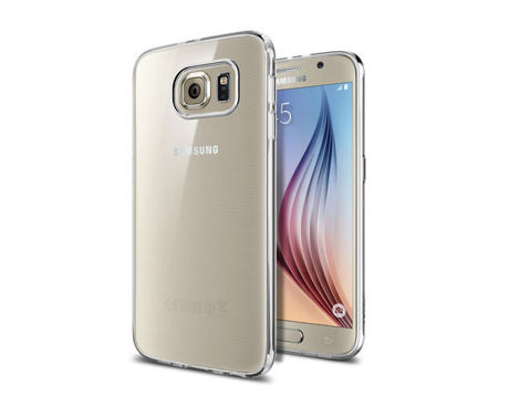 ETUI SGP SPIGEN Liquid Crystal do Samsung Galaxy S6 Crystal Clear