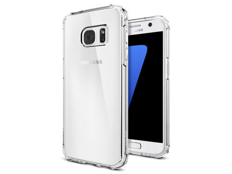 ETUI SPIGEN CRYSTAL SHELL SAMSUNG GALAXY S7 CLEAR CRYSTAL