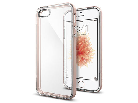 ETUI SPIGEN NEO HYBRID CRYSTAL IPHONE SE/5S/5 ROSE GOLD