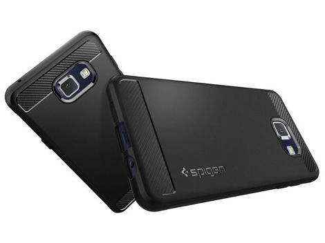 ETUI SPIGEN RUGGED ARMOR SAMSUNG GALAXY A5 2016 BLACK