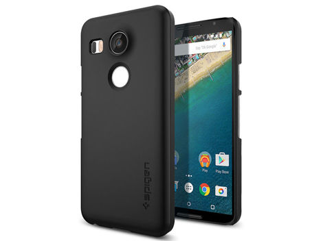 ETUI SPIGEN THIN FIT LG NEXUS 5X BLACK