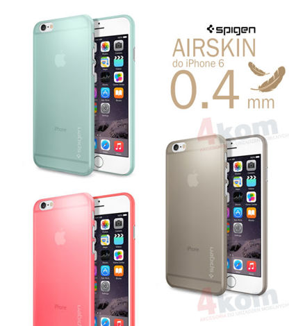 Etui Air Skin Spigen SGP do iPhone 6/6s Champagne