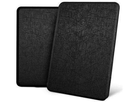 Etui Alogy Leather Smart Case Kindle Paperwhite 4 czarne z połyskiem