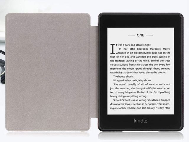 Etui Alogy Smart Case do Kindle Paperwhite 4 czarne