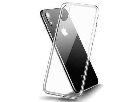 Etui Cafele Slim Glass Case Apple iPhone Xs Max przezroczyste