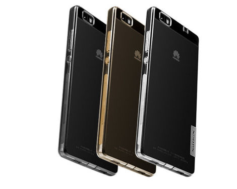 Etui Nillkin Nature TPU 0.6mm Huawei Ascend P8 Lite Grey
