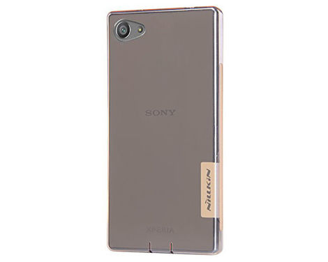 Etui Nillkin Nature TPU 0.6mm Sony Xperia Z5 Compact/Mini Brown