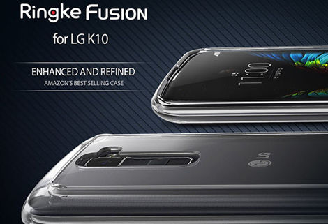 Etui Rearth Ringke Fusion LG K10 Crystal View