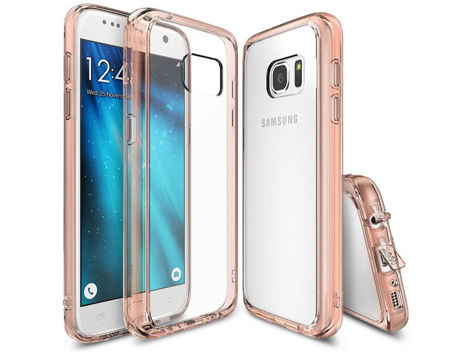 Etui Rearth Ringke Fusion Samsung Galaxy S7 Rose Gold