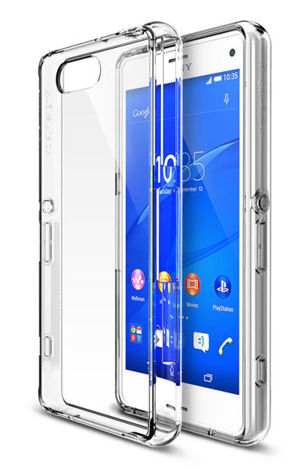 Etui Rearth Ringke Fusion Sony Xperia Z3 Compact Crystal View