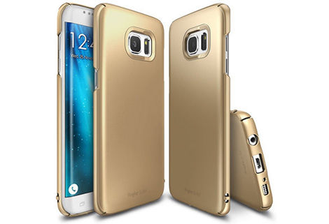 Etui Rearth Ringke Slim Samsung Galaxy S7 Edge Royal Gold