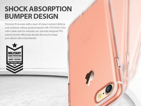 Etui Ringke Air Apple iPhone 7/8 Rose Gold