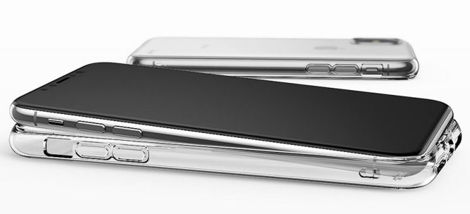 Etui Ringke Air do Apple iPhone X/Xs Clear + Szkło 3mk FG