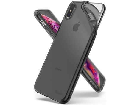 Etui Ringke Air do Apple iPhone XS Max Smoke Black