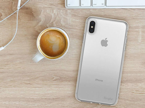 Etui Ringke Air do Apple iPhone XS Max clear + Szkło Invisible