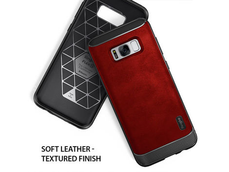 Etui Ringke Flex S Samsung Galaxy S8 Plus Red + Szkło