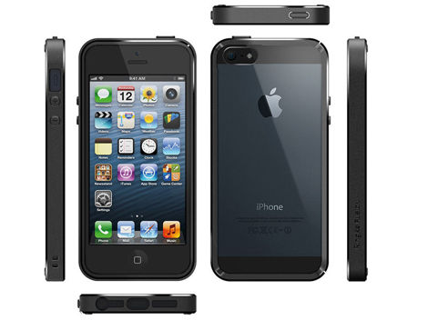 Etui Ringke Fusion iPhone 5 5S SE Smoke Black