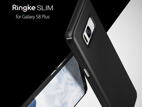 Etui Ringke Slim Samsung Galaxy S8+ Plus SF Black + Szkło
