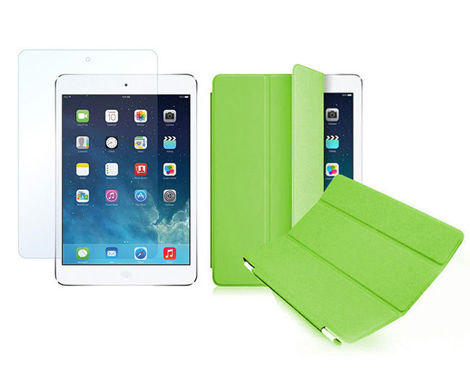 Etui Smart Cover do iPad Mini 4 Zielone + SZKŁO
