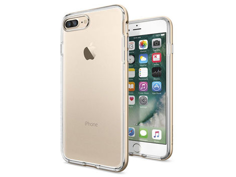 Etui Spigen Neo Hybrid Crystal iPhone 7 Plus Champagne Gold