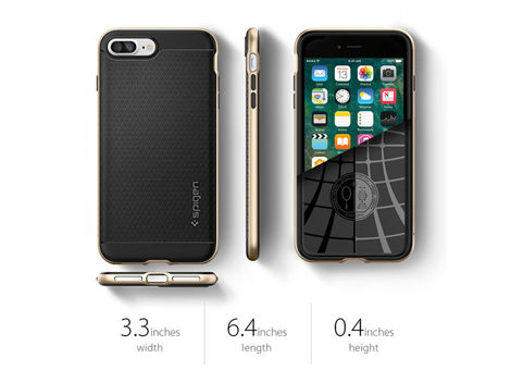 Etui Spigen Neo Hybrid iPhone 7/8 Plus Gunmetal