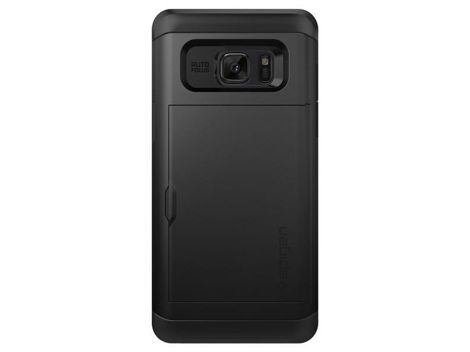 Etui Spigen Slim Armor Card Slider Samsung Galaxy Note 7 Black