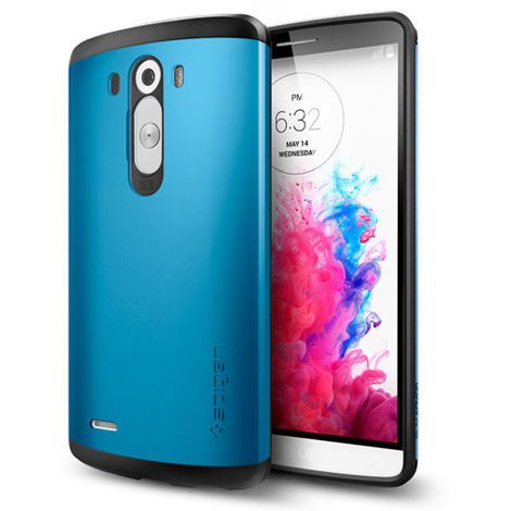 Etui Spigen Slim Armor LG G3 Electric Blue