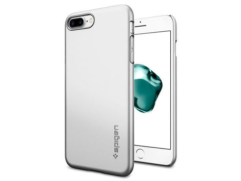 Etui Spigen Thin Fit iPhone 7/8 Plus Satin Silver