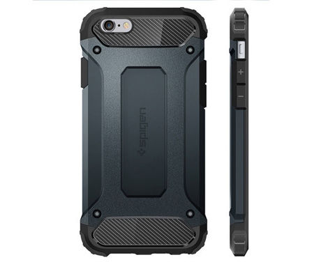 Etui Spigen Tough Armor Tech iPhone 6/6s Metal Slate